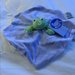 NWT NOUKIE'S frog buddy.